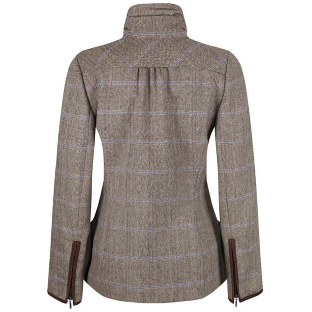 Dubarry Ladies' Tweed Sports Jacket - Bracken - Woodrose