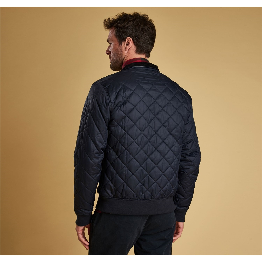 Autumn 2018 Barbour Men's Edderton Quilt - Navy