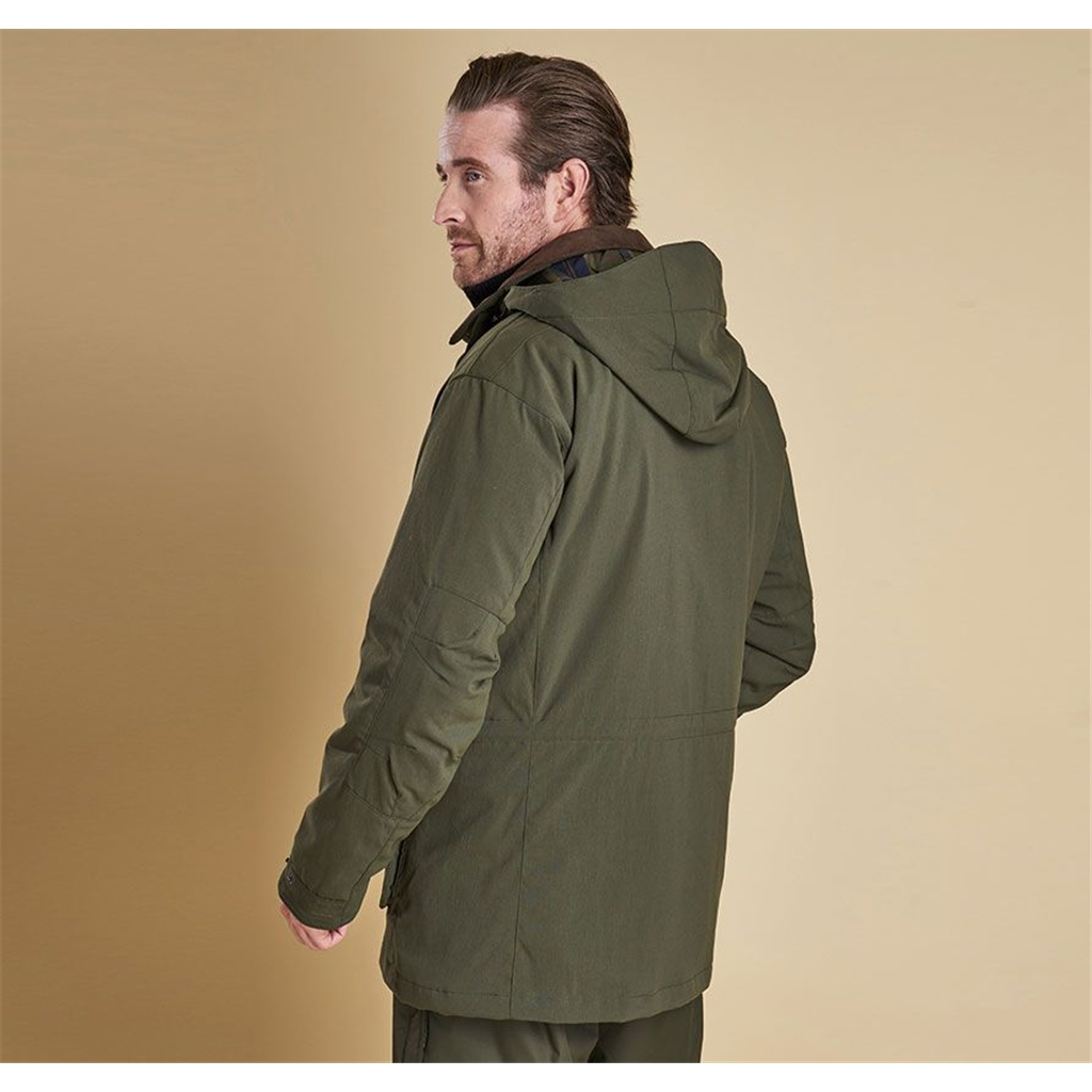 Autumn 2018 Barbour Men's Bransdale Waterproof and Breathable Jacket - Forest Green