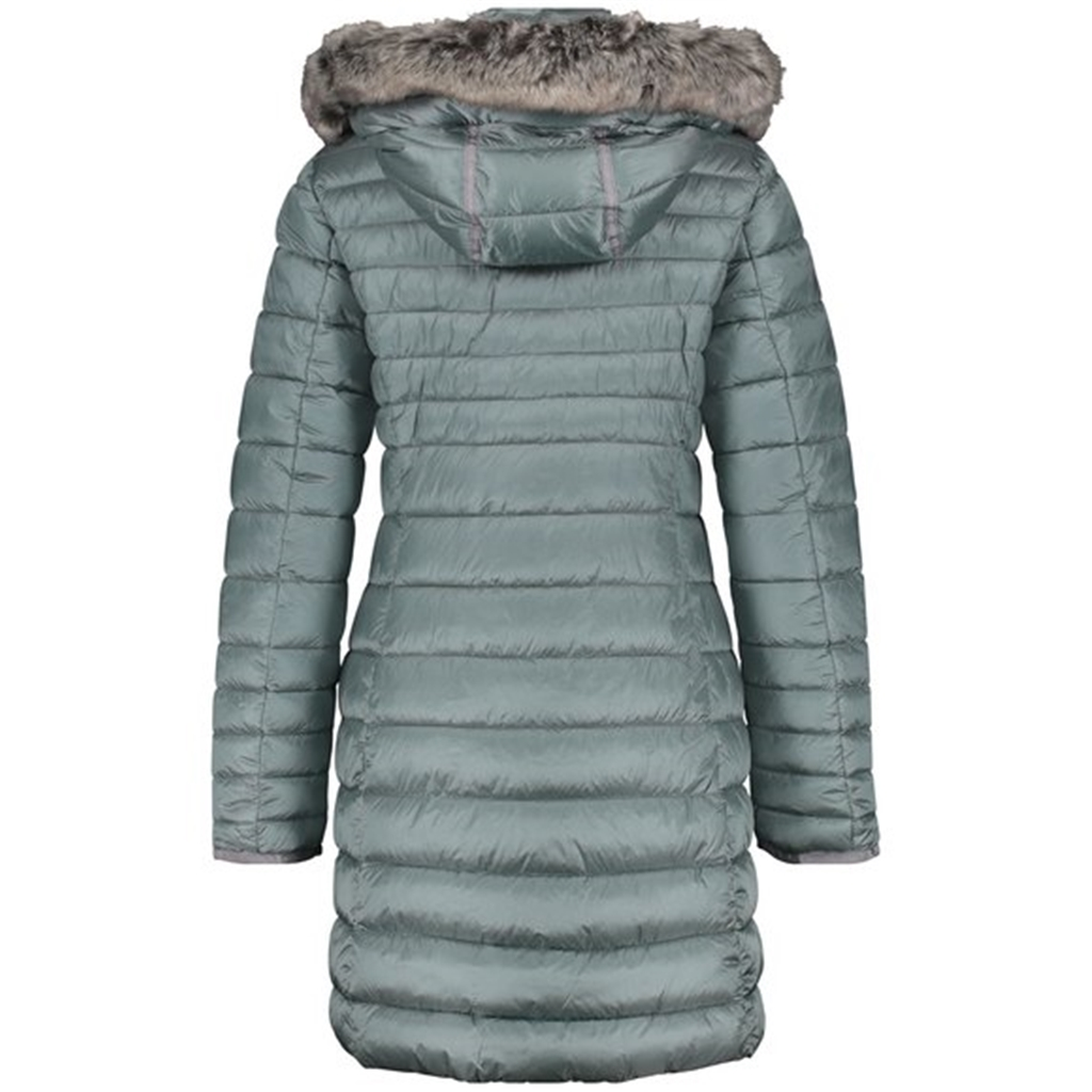 Gerry Weber Quilted Coat - Jade Teal