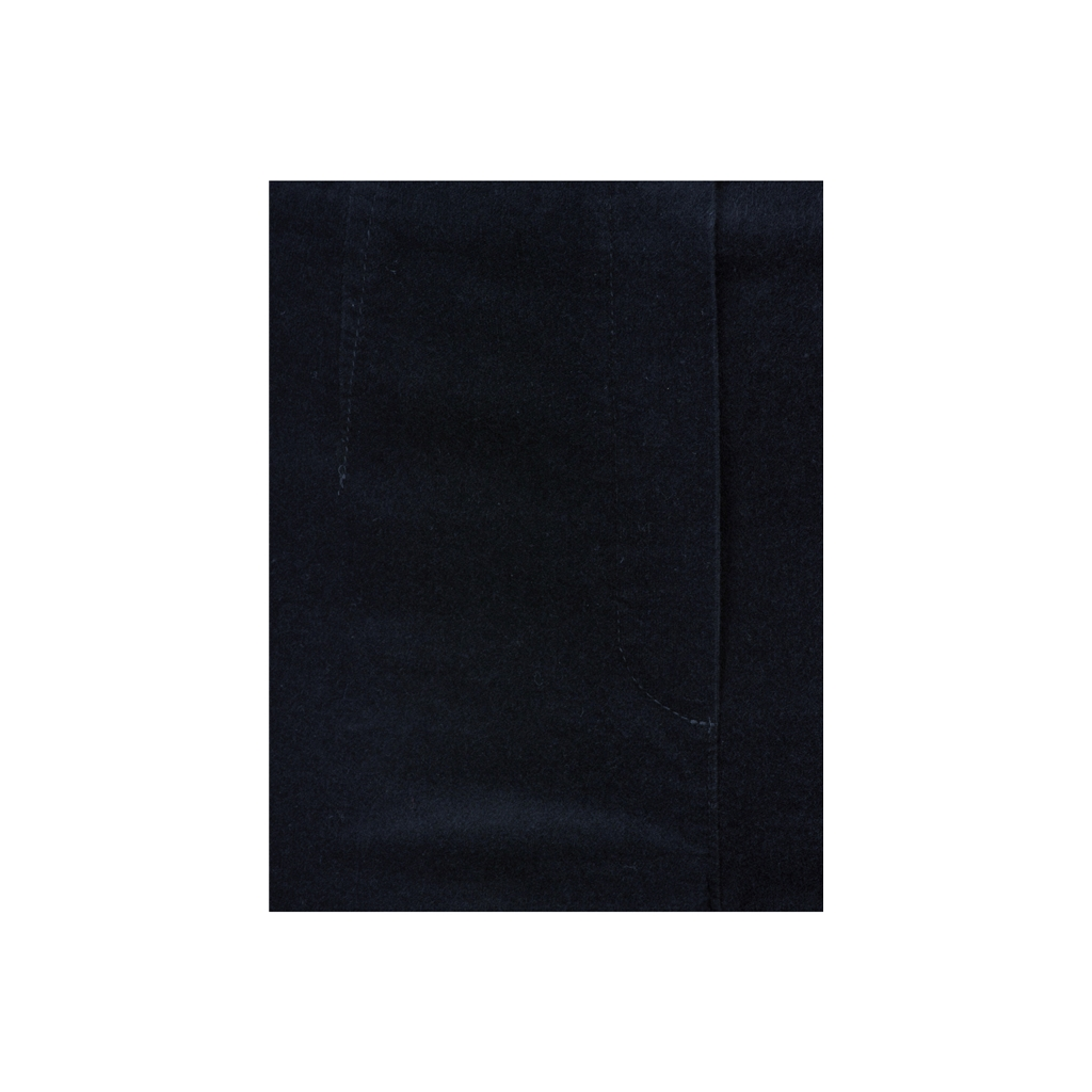 Autumn 2018 Robell Trousers - Marie Slim Fit Stretch Velvet - Navy