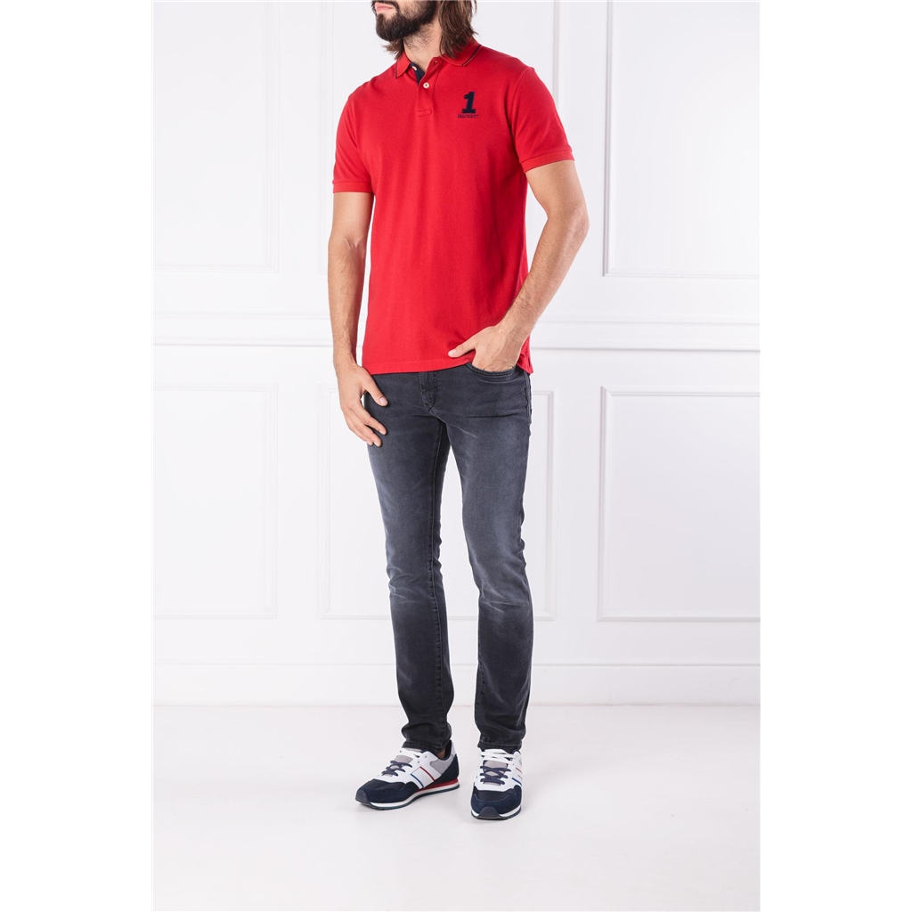Autumn 2018 Hackett of London Polo-Shirt - Red