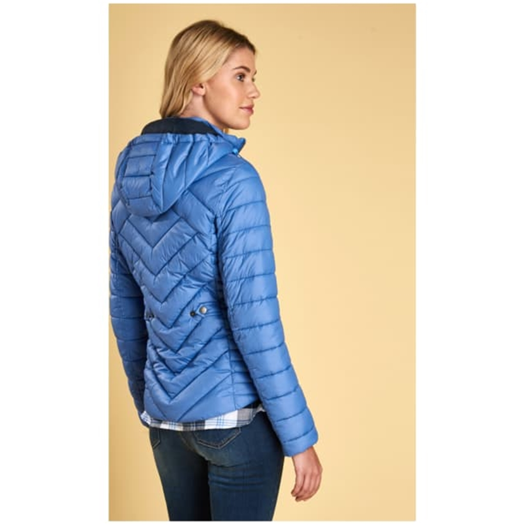 Autumn 2018 Barbour Women's Pentle Quilted Jacket - Shore Blue - Size 16 Only