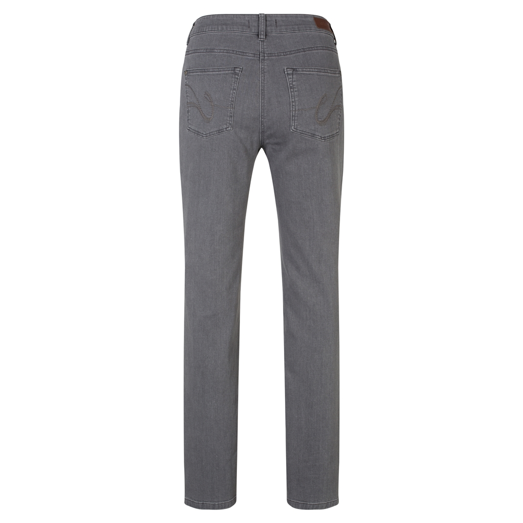 Olsen Mona Slim Jeans - Grey Denim - Size 10 Only