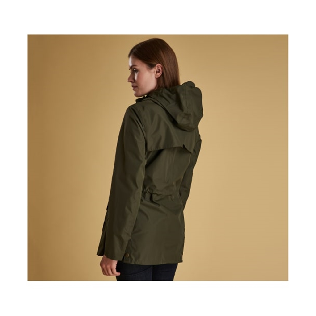 New 2019 Barbour Women's Waterproof Jacket - Aire - Olive
