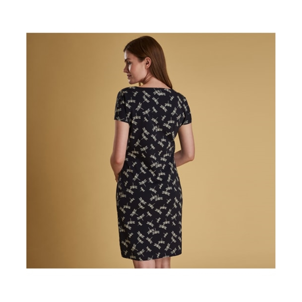 New 2019 Barbour Women's Dress - Manor - Navy