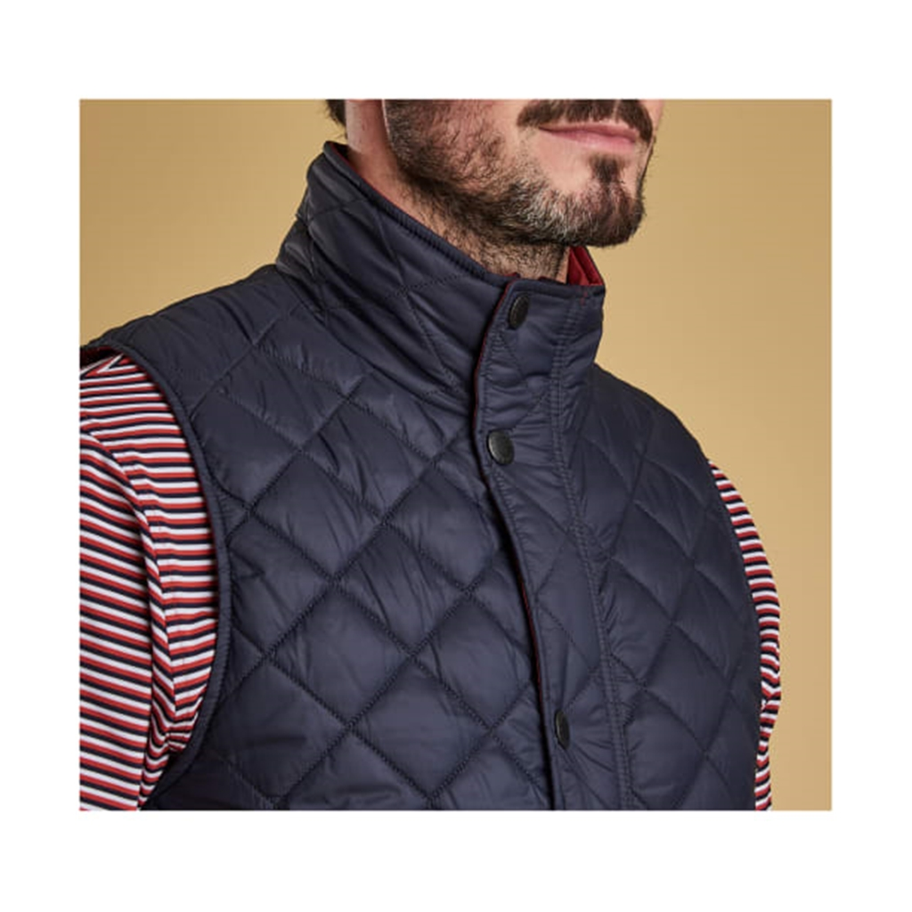 Spring 2019 Barbour Men's Quilted Gilet - Ampleforth - Navy