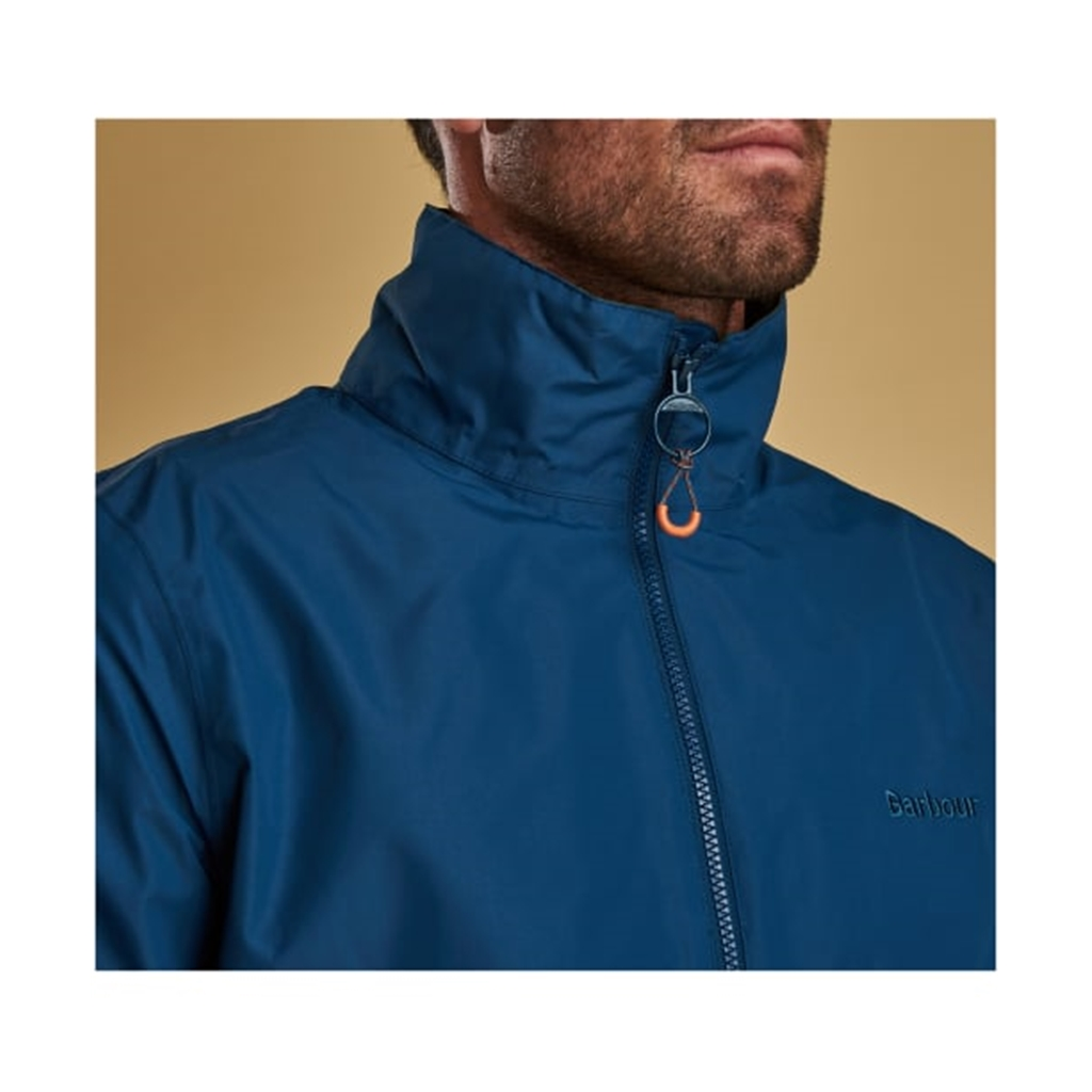 Spring 2019 Barbour Men's Lightweight Waterproof Jacket - Rye - Peacock Blue