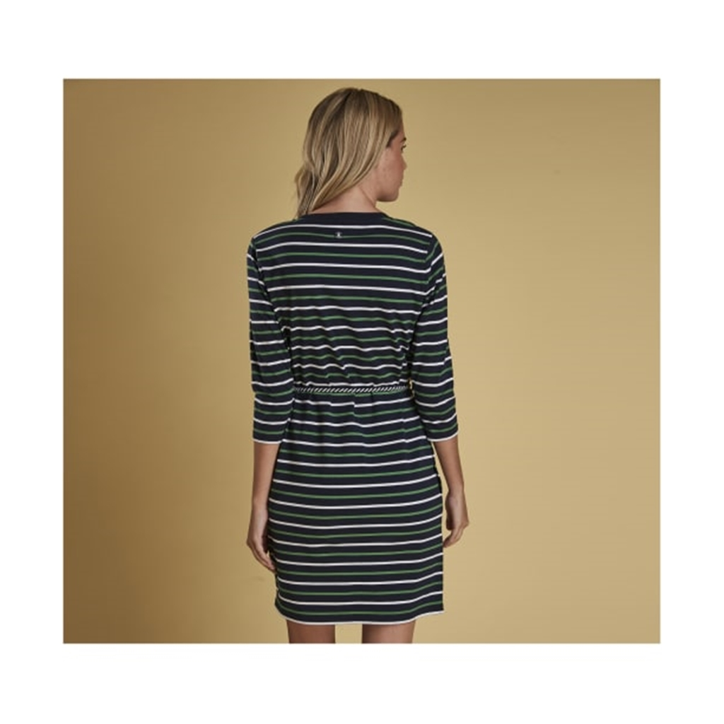 New 2019 Barbour Women's Dress - Applecross - Navy