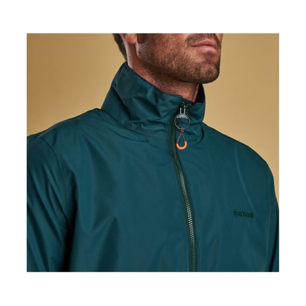 New 2019 Barbour Men's Lightweight Waterproof Jacket - Rye - Spruce Green - Size XXL Only