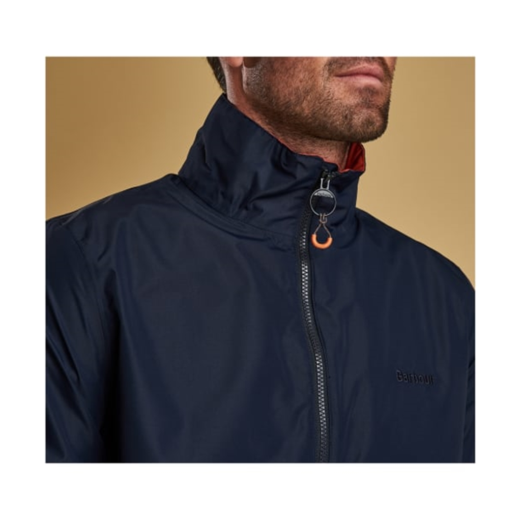 New 2019 Barbour Men's Lightweight Waterproof Jacket - Rye - Navy