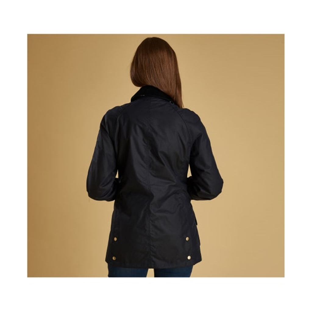 Spring 2019 Barbour Women's Waxed Cotton Jacket - Monteviot - Navy
