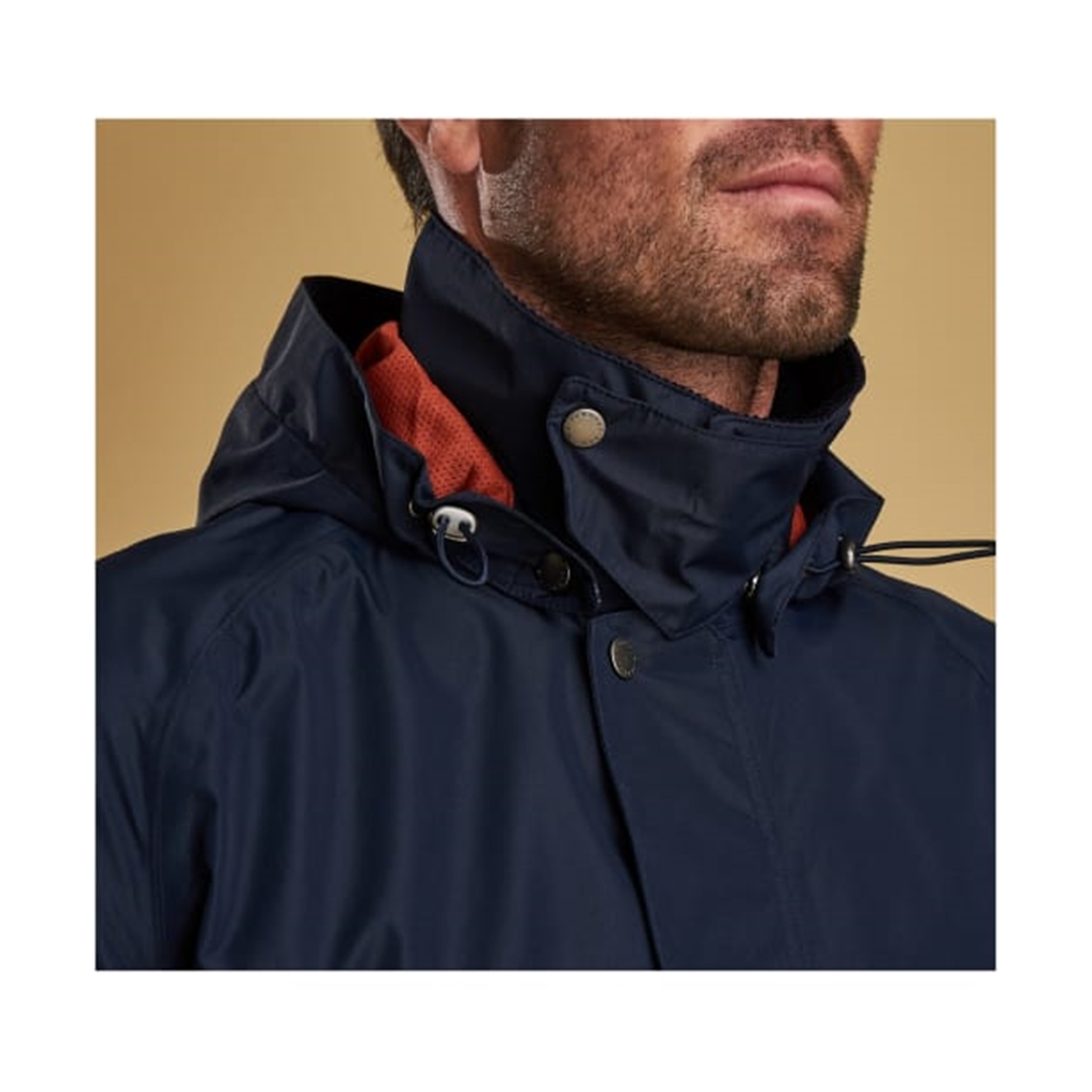 Spring 2019 Barbour Men's Waterproof Jacket - Arlington - Navy