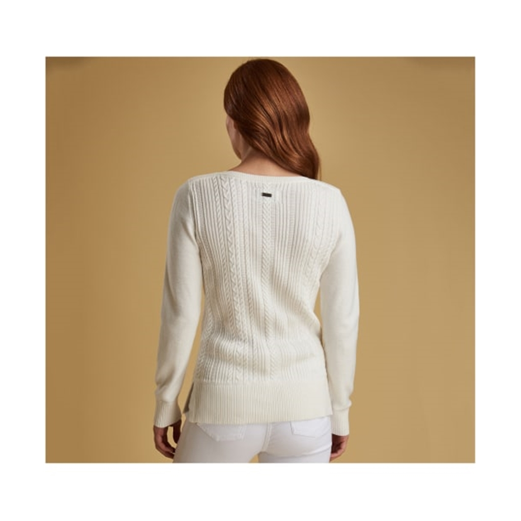 Spring 2019 Barbour Women's Knit - Hampton - Off-White