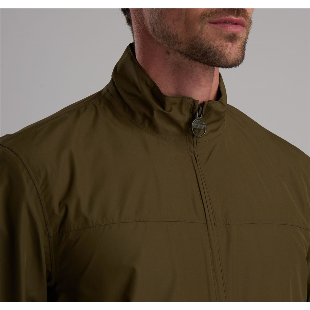 Spring 2019 Barbour International Men's Steve McQueen Lightweight Jacket - Olympic - Army Green