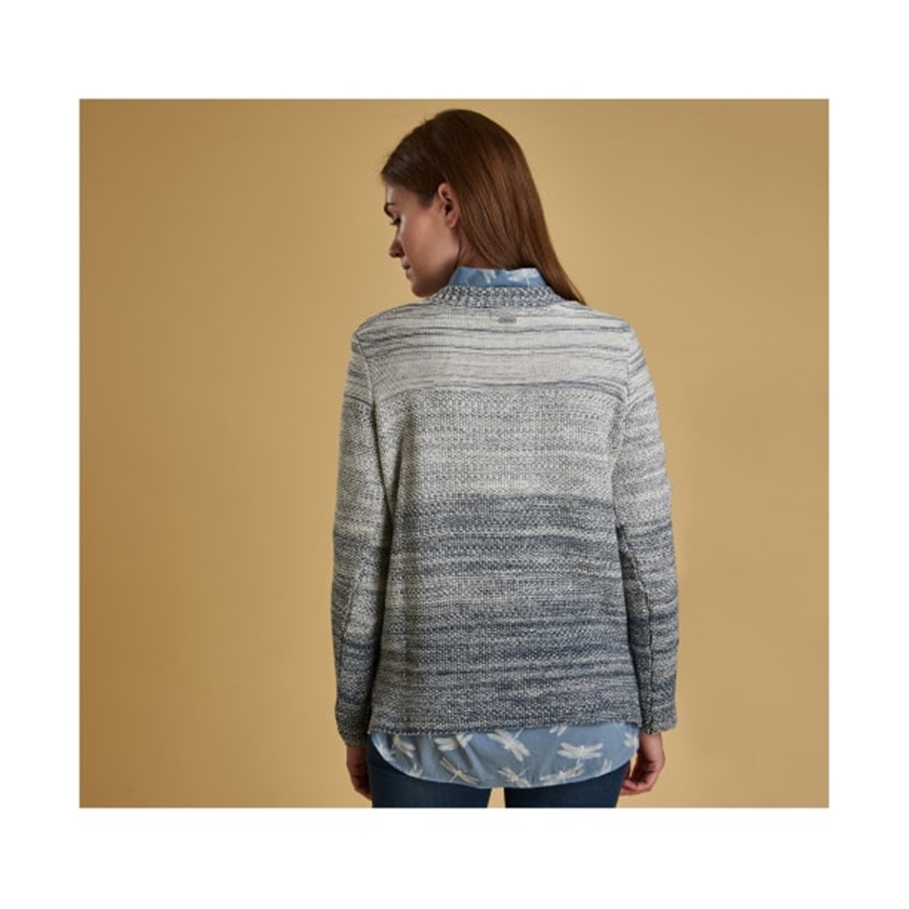New 2019 Barbour Women's Knit - Damselfly - Blue Heaven