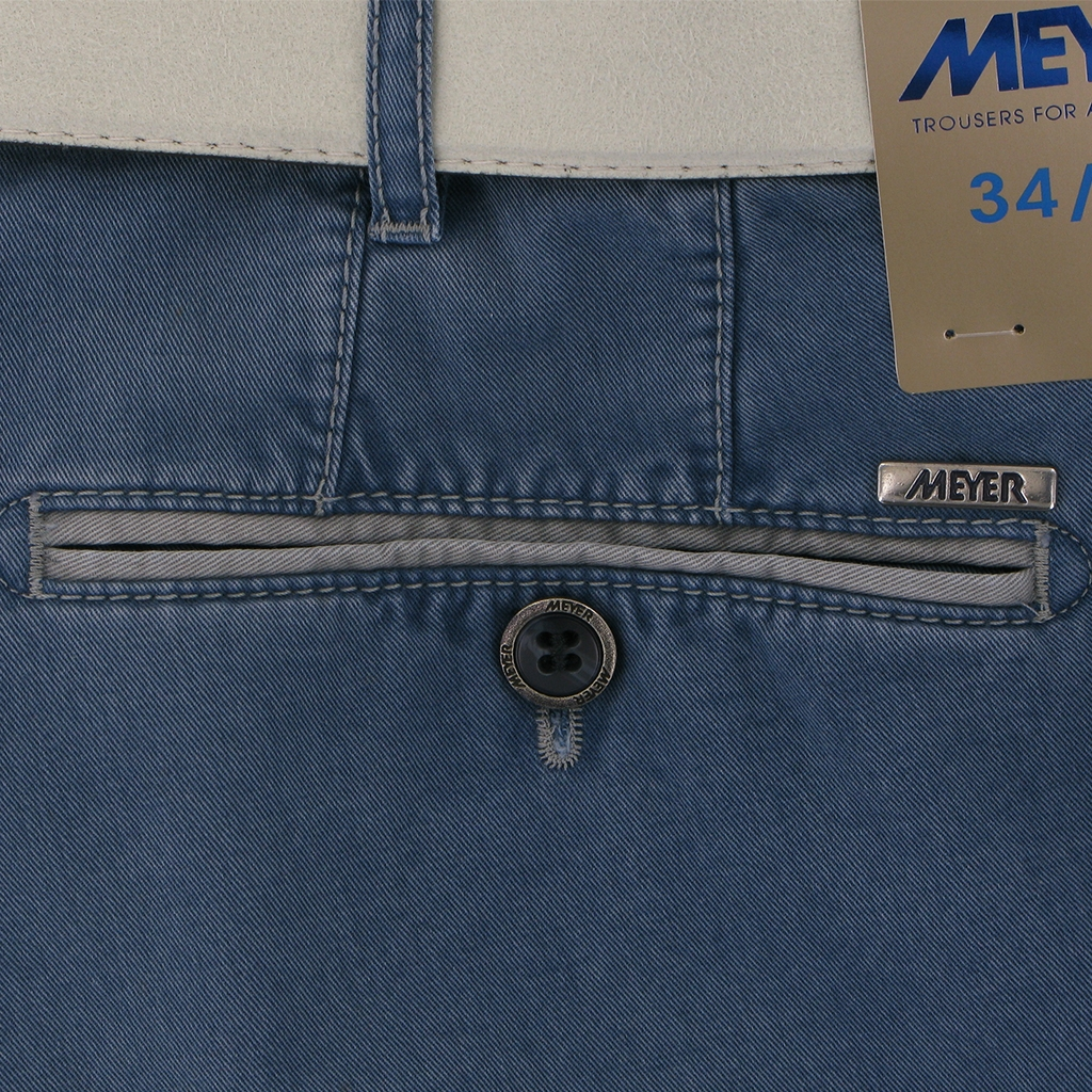 New 2019 Meyer Shorts - Washed Blue - Palma 5001 17