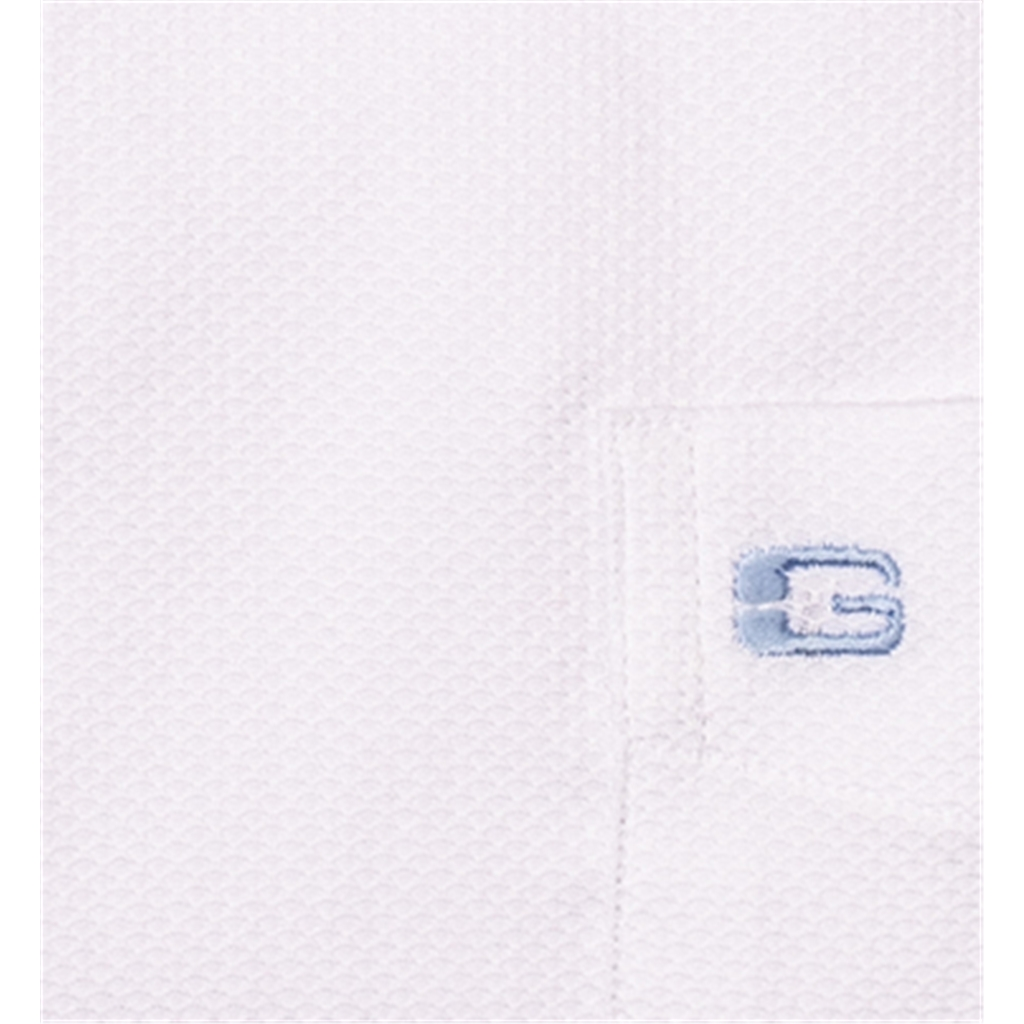 Giordano Shirt - White Weave - 3XL Only