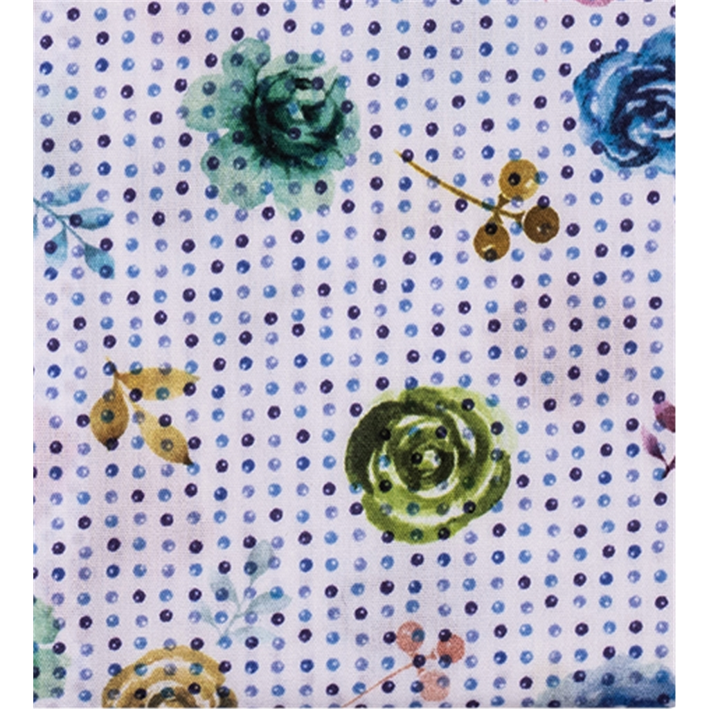 New 2019 Giordano Shirt - Spots and Flowers
