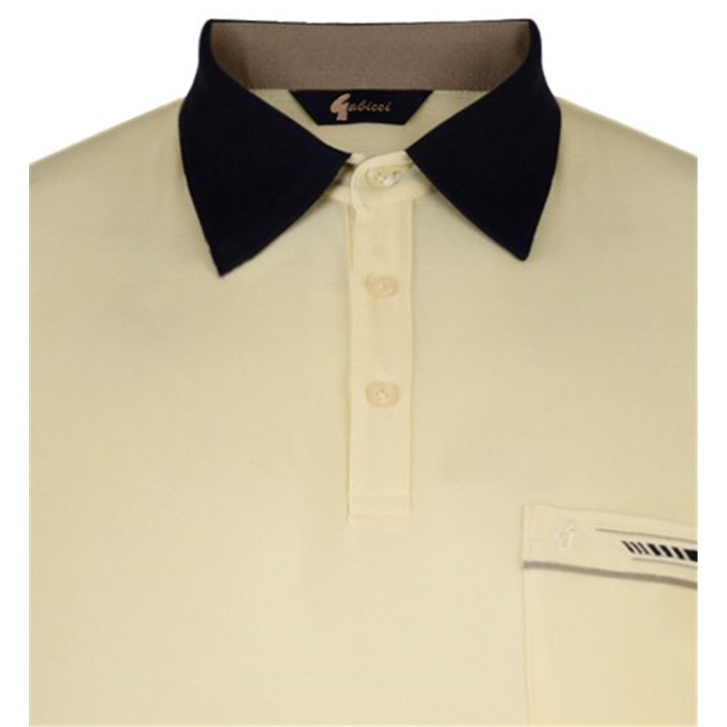 Gabicci Half Sleeve Shirt - Corn