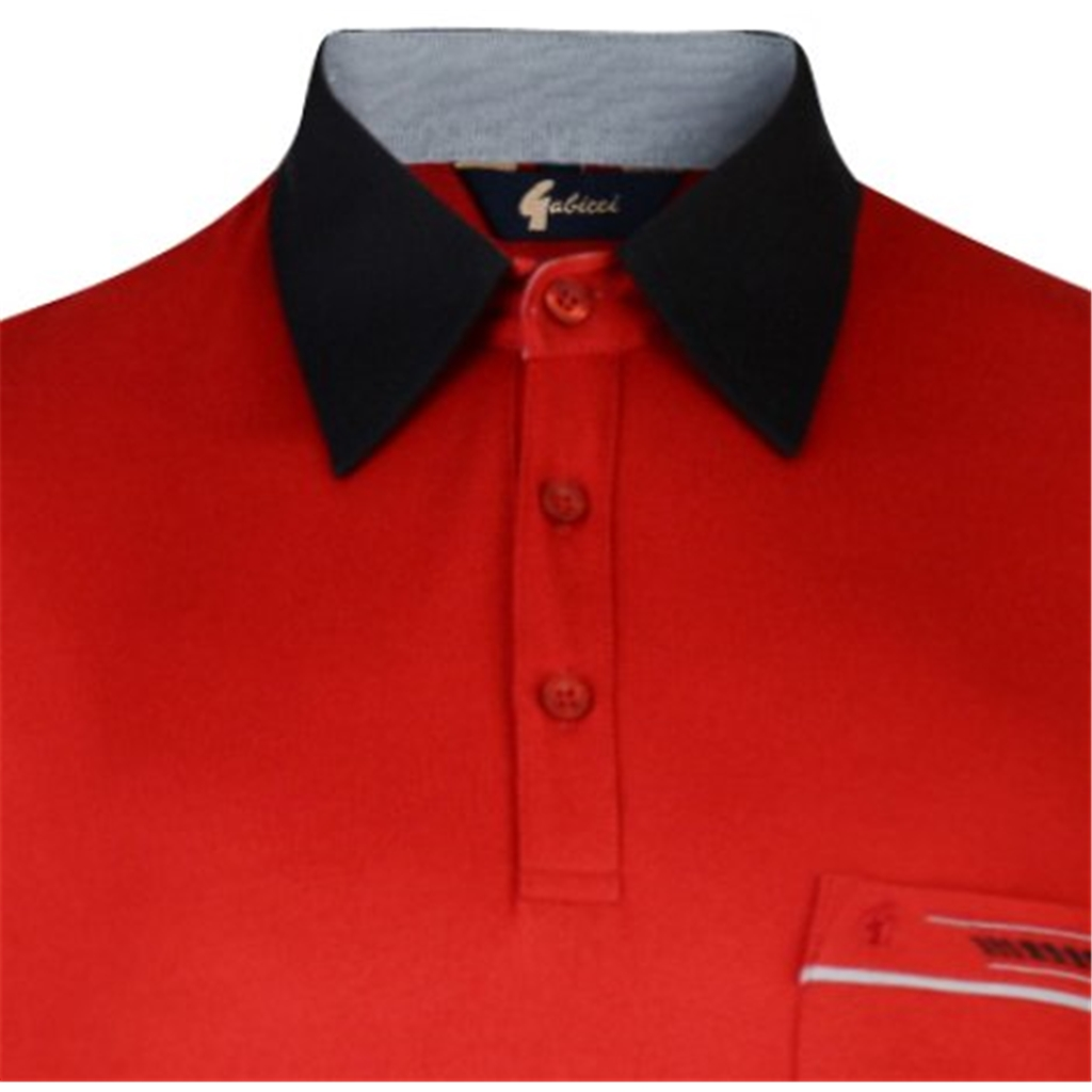 Gabicci Half Sleeve Shirt - Red