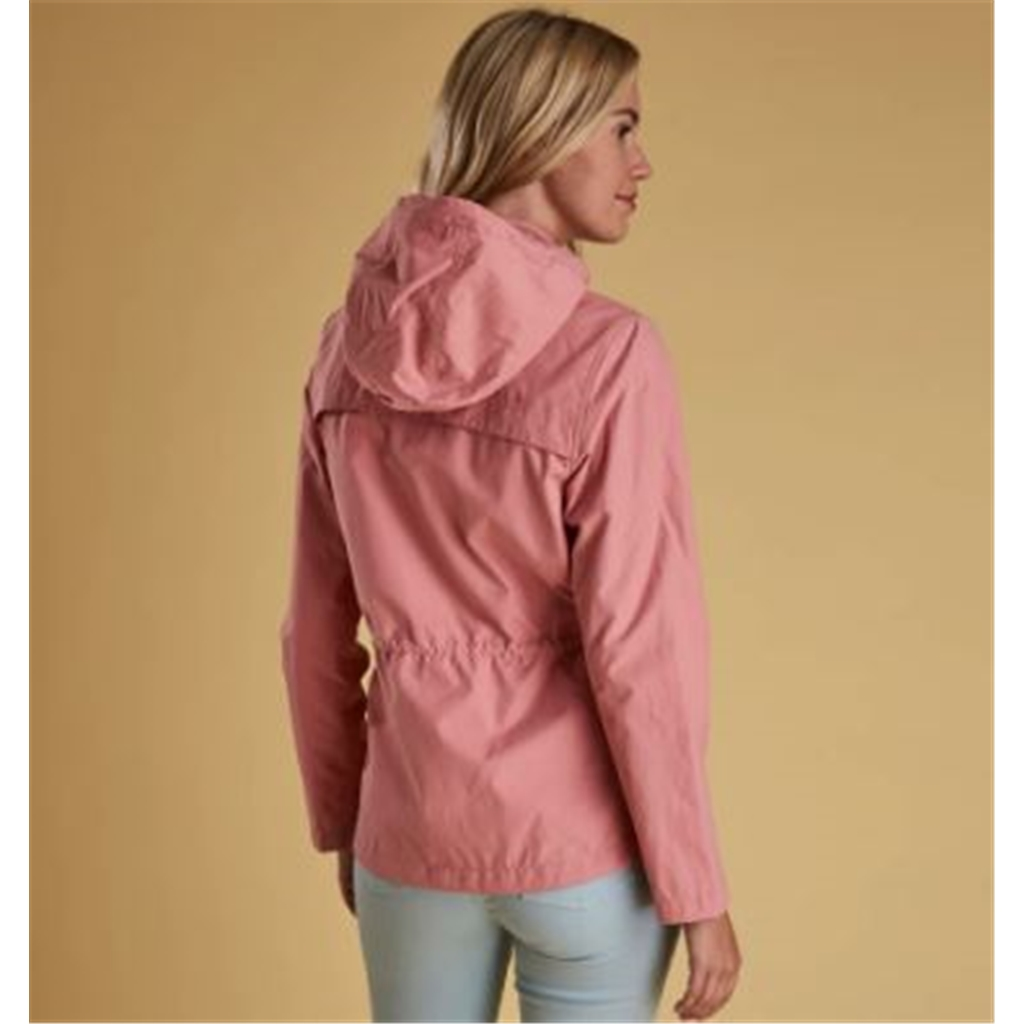 New 2019 Barbour Womens Deck Casual Jacket - Vintage Rose