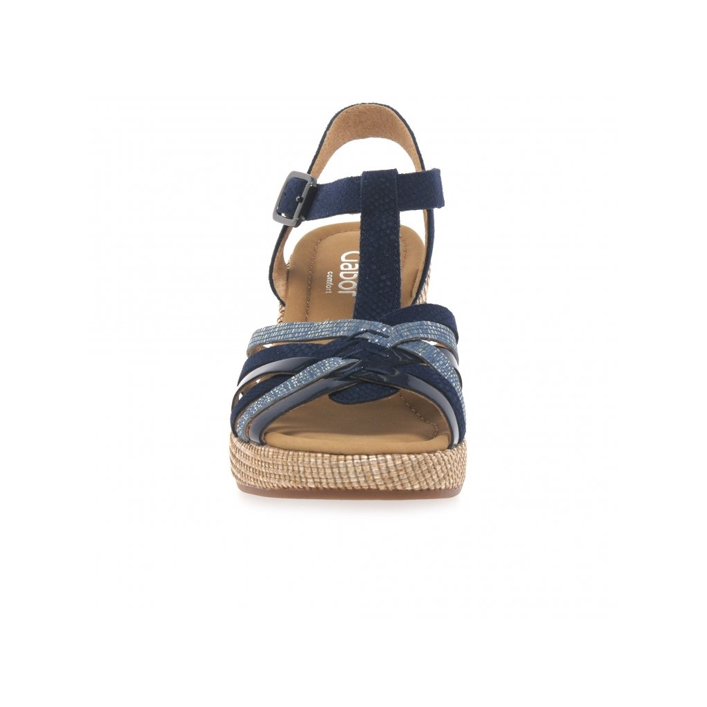 Gabor Cheri Ladies Sandals - Navy
