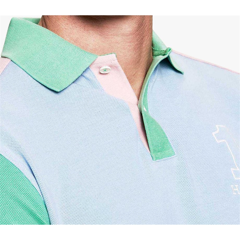 Spring 2019 Hackett Archive Polo Sky/Multi
