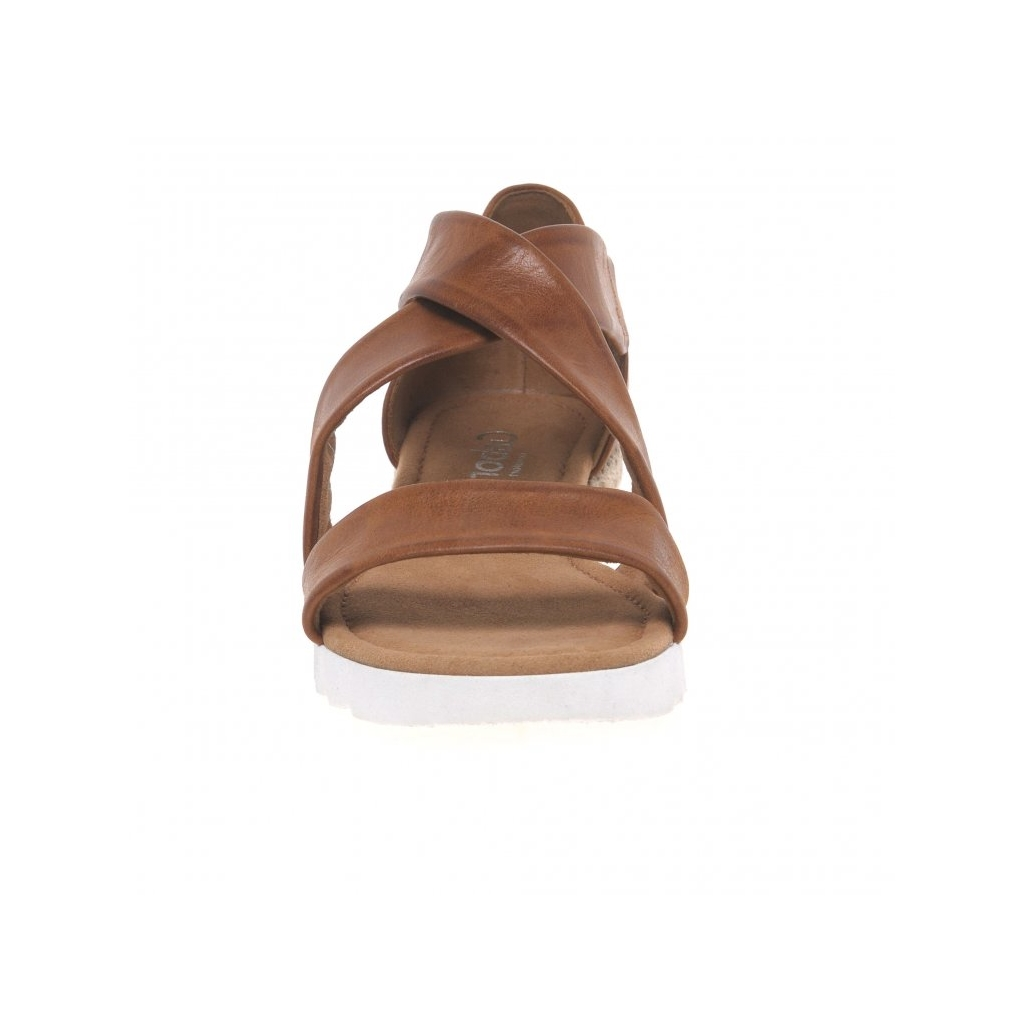 Gabor Promise Sandals - Tan