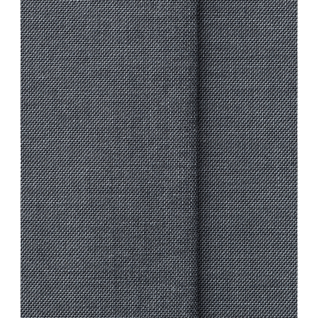 New 2019 Meyer MMX Pleated Cotton Trouser - Mid-Grey Chambray - Leo 7008 08