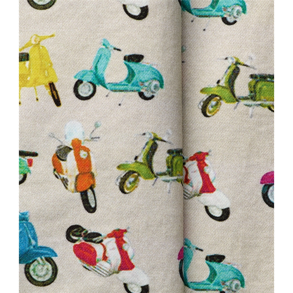 New 2019 Meyer MMX Patterned Cotton Shorts - Multicolour Scooters - Pavo 7032 33