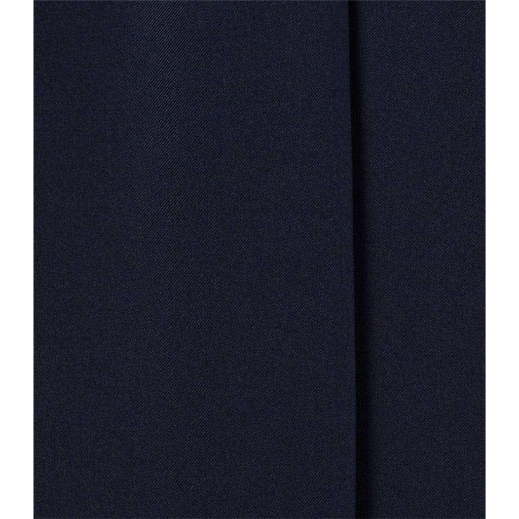 New 2019 Meyer MMX Wool and Silk Mix Trouser - Navy Blue - Lupus 7201 18