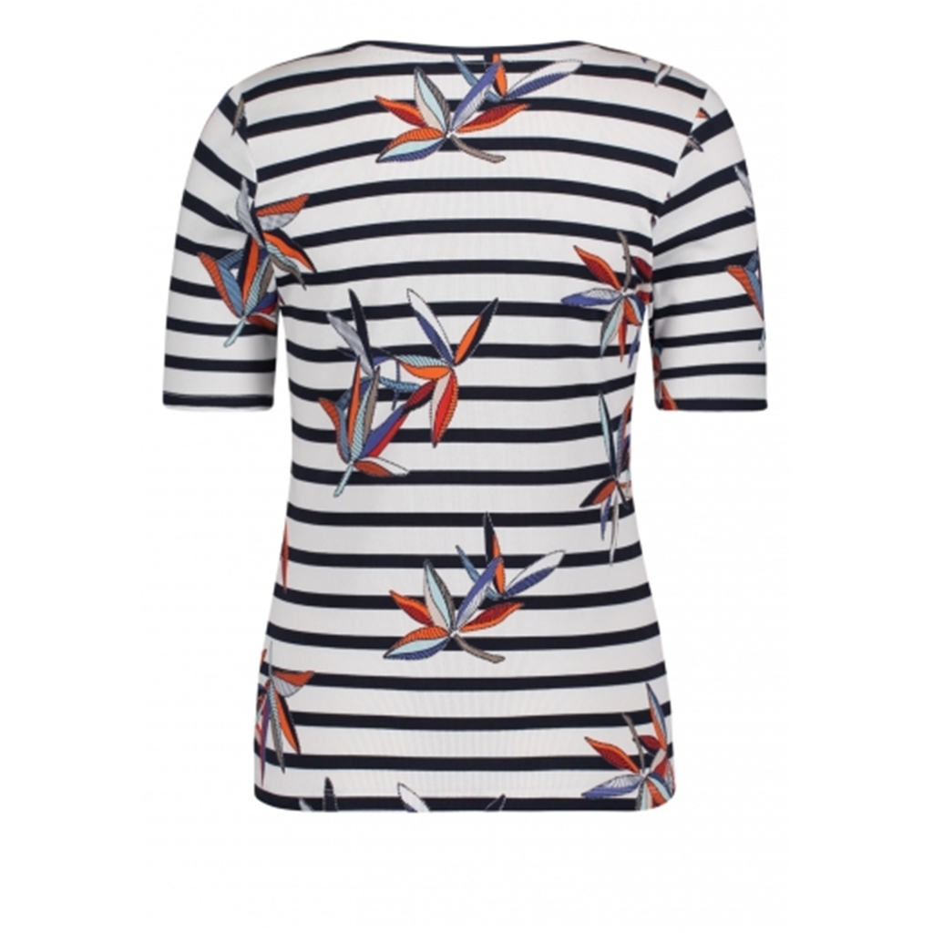 Betty Barclay - Striped Top - White