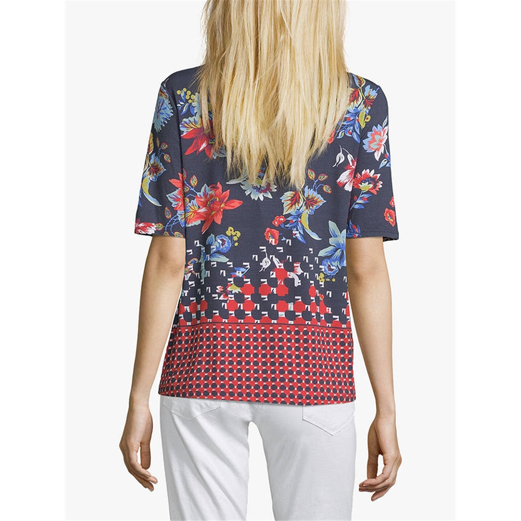 Betty Barclay - Geometric Print T-shirt - Multi