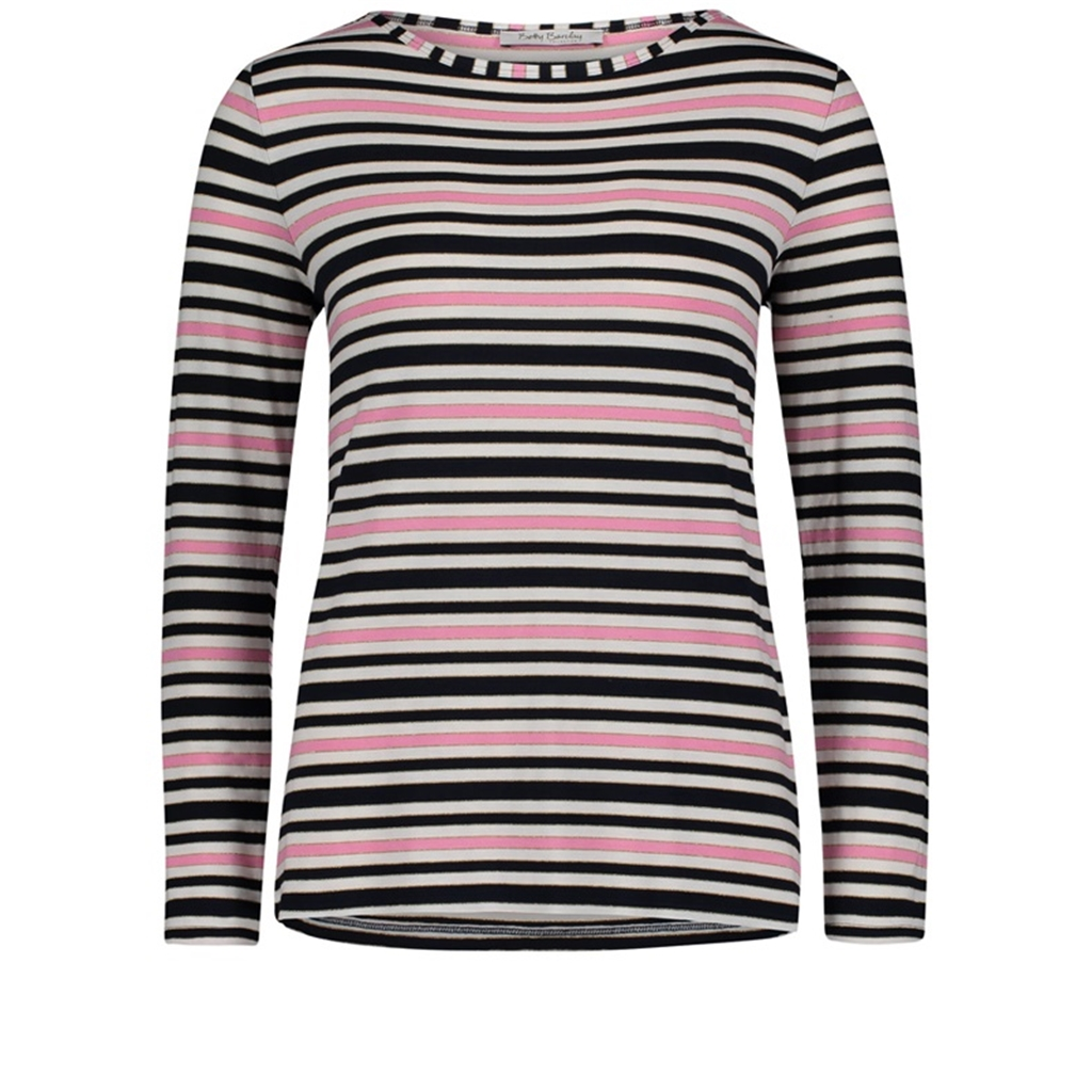 Betty Barclay - Striped Top - Pink