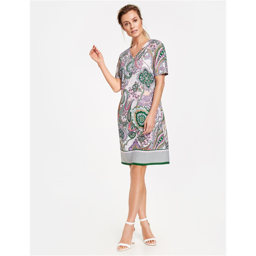 Gerry Weber Paisley Print Dress - Lilac