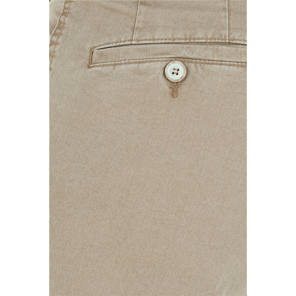 Gurteen Cotton Trouser - Stone - Longford 1213 011