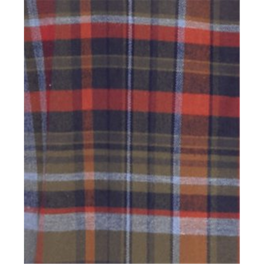 Fynch Hatton Premium Flannel Cotton Shirt - Sienna Check