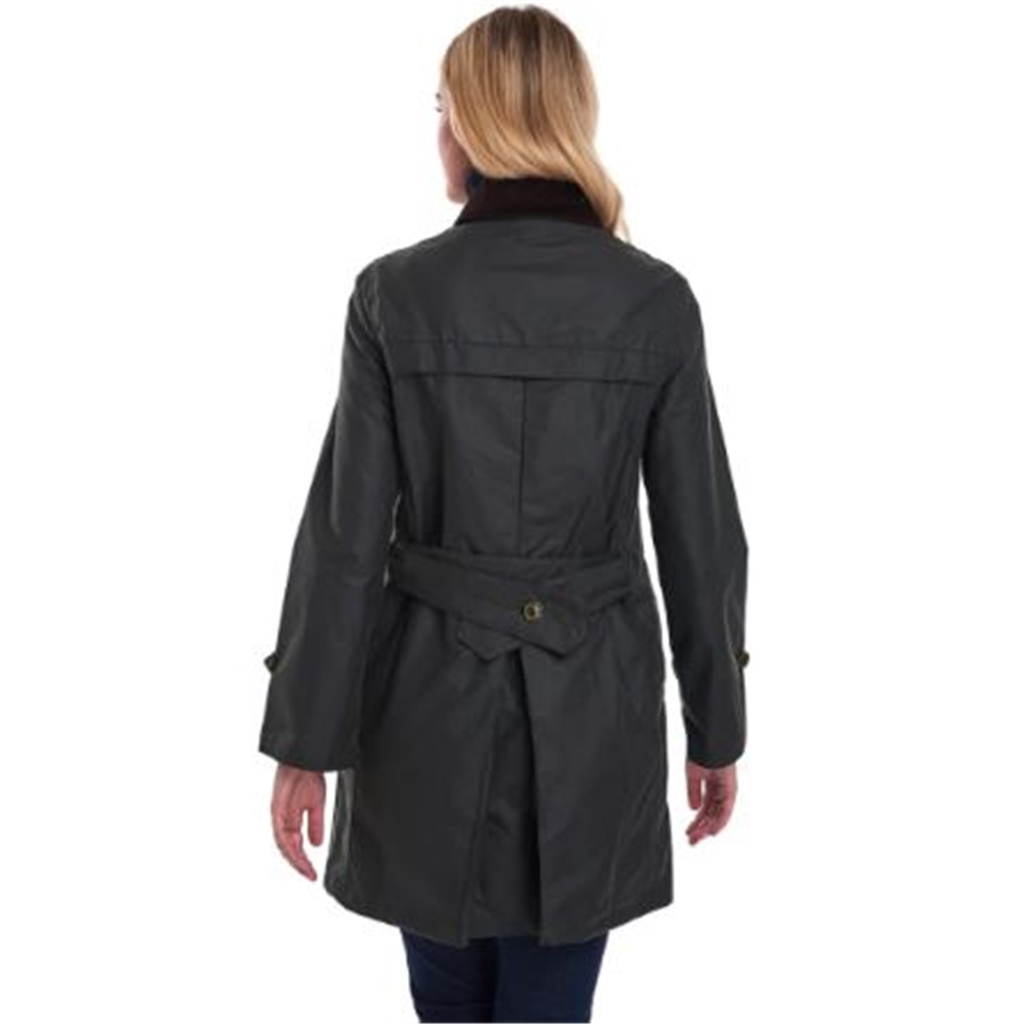 Barbour Women's 125 Years Icons Haydon Waxed Jacket - Sage