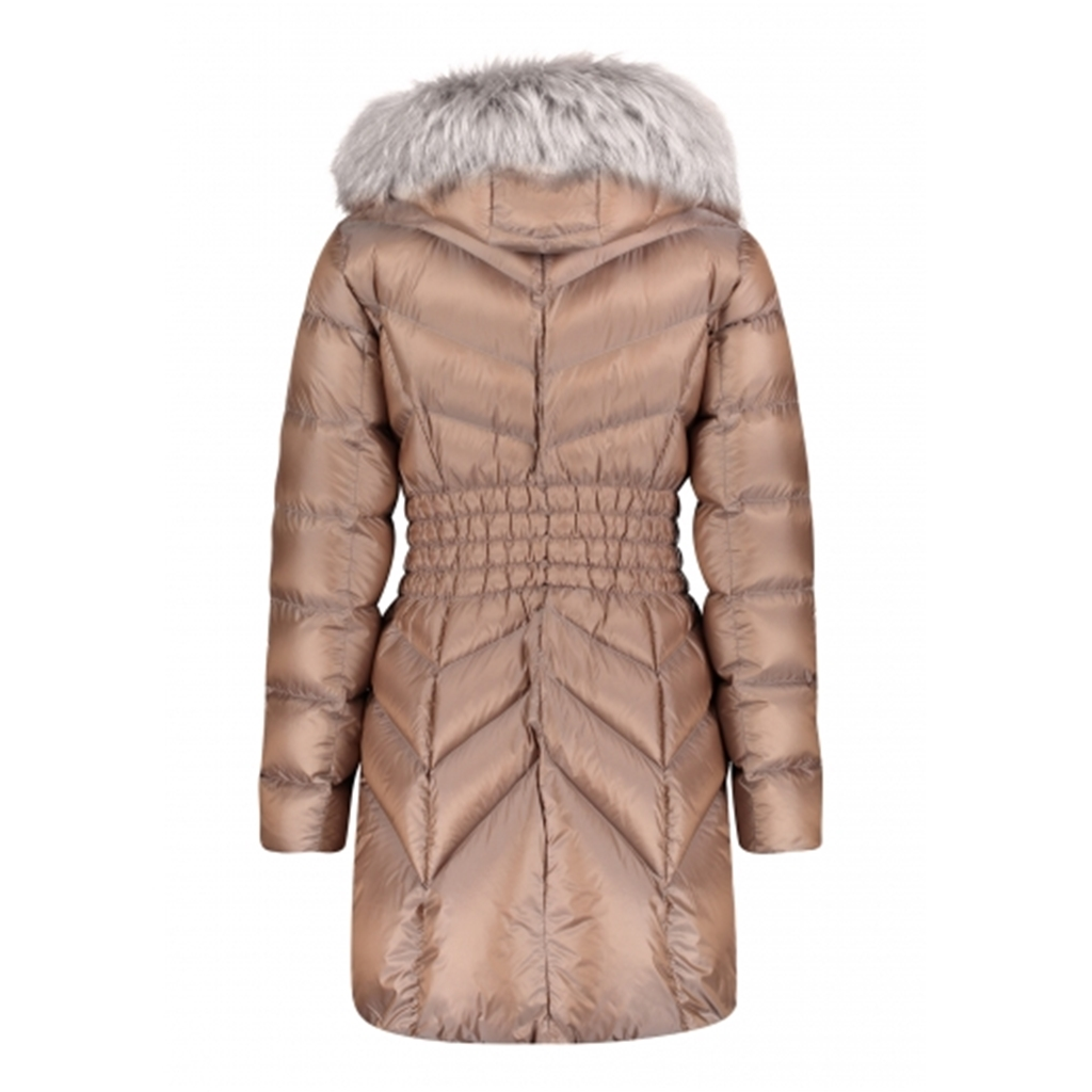Betty Barclay Down Padded Coat - Tan