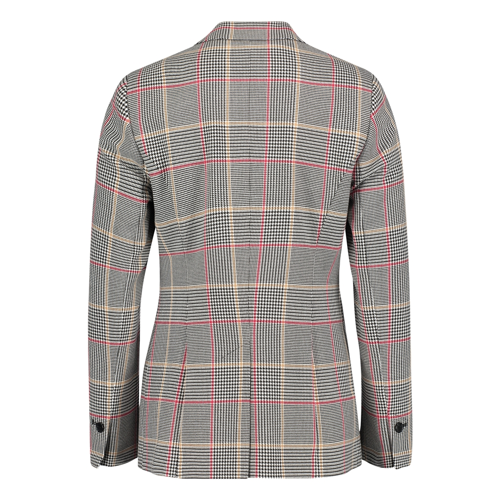 Betty Barclay Checked Blazer - Grey