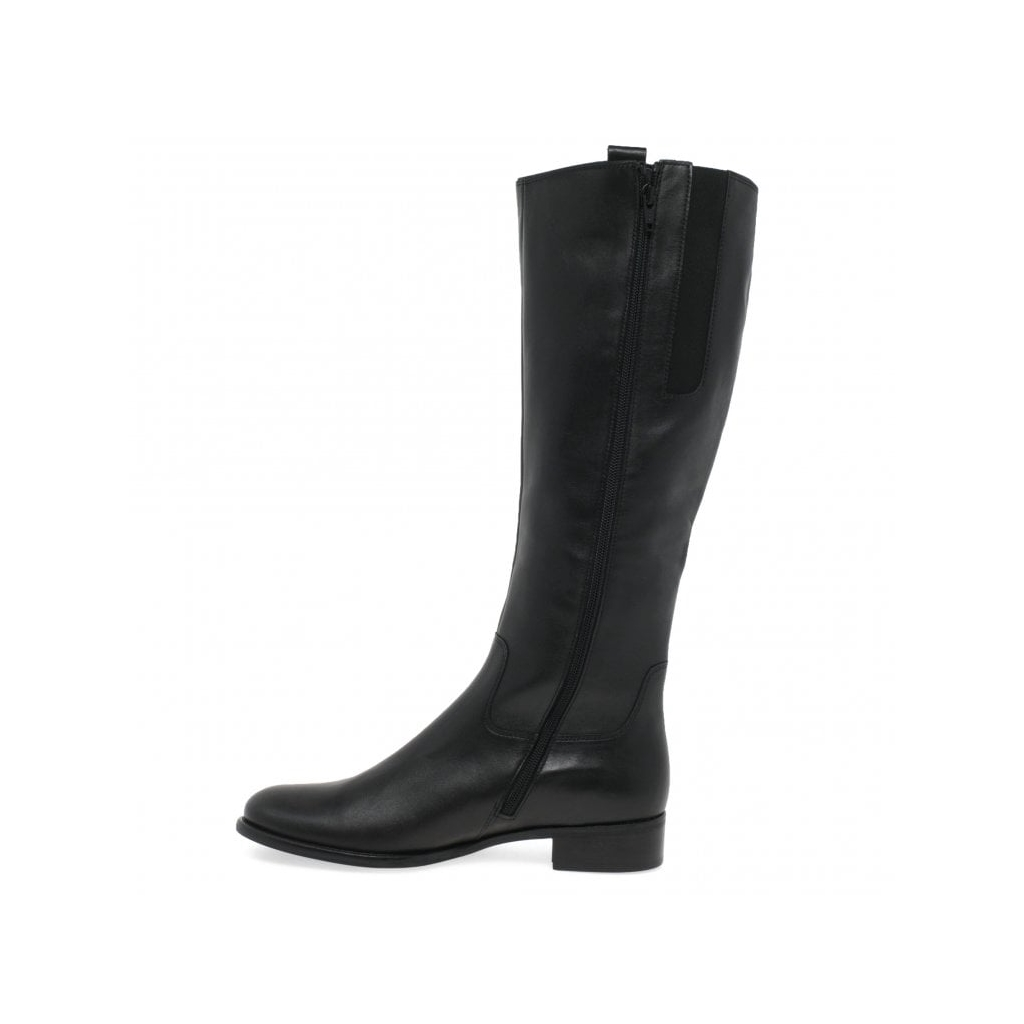 Gabor Brook Ladies Long Boots - Black