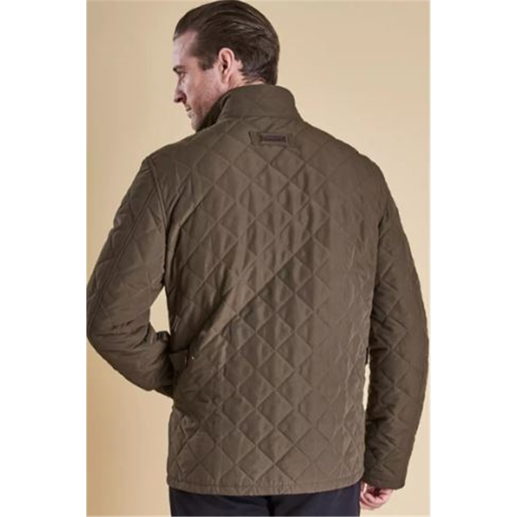 Barbour Powell Quilted Jacket - Sage