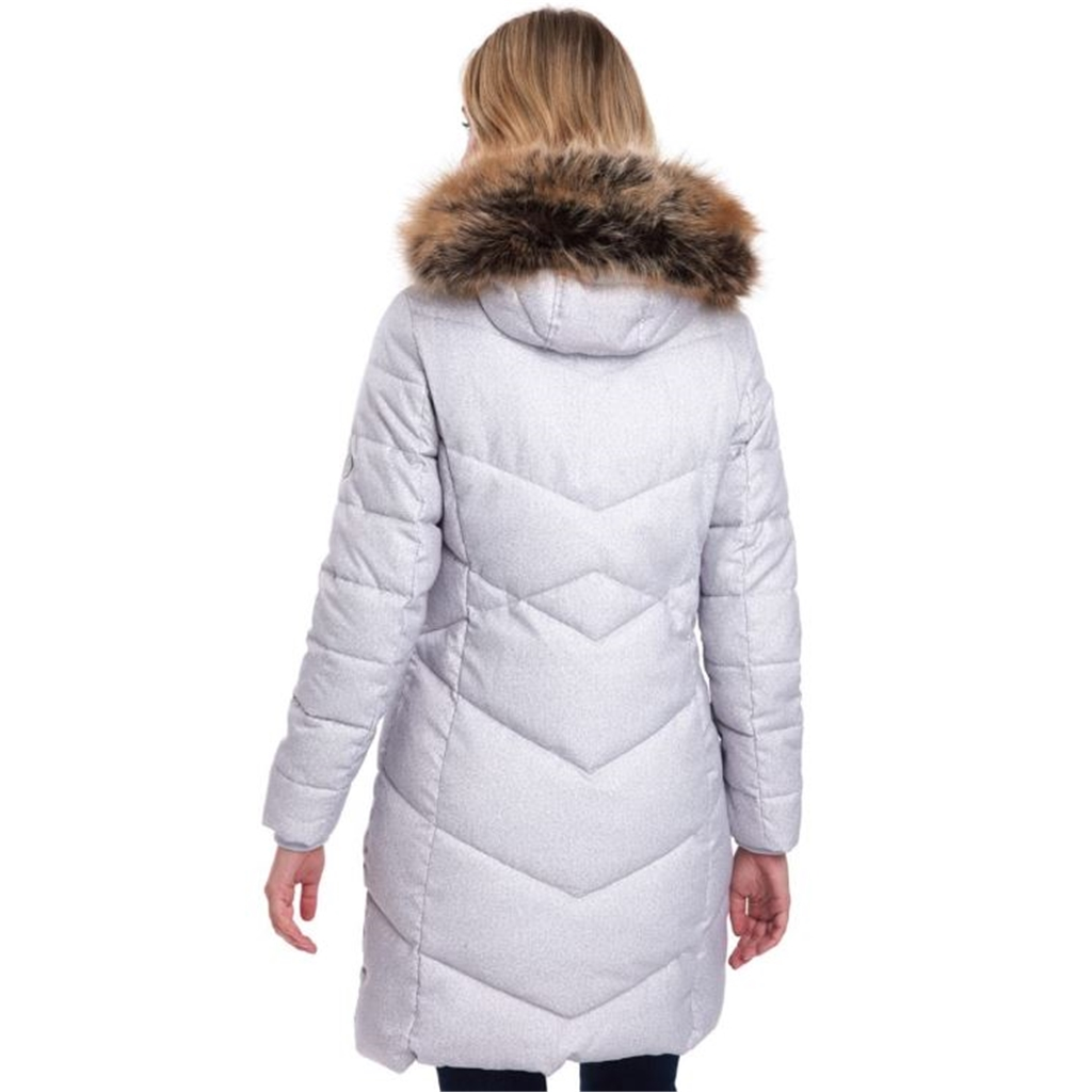 Barbour Sternway Quilted Jacket - Ice White