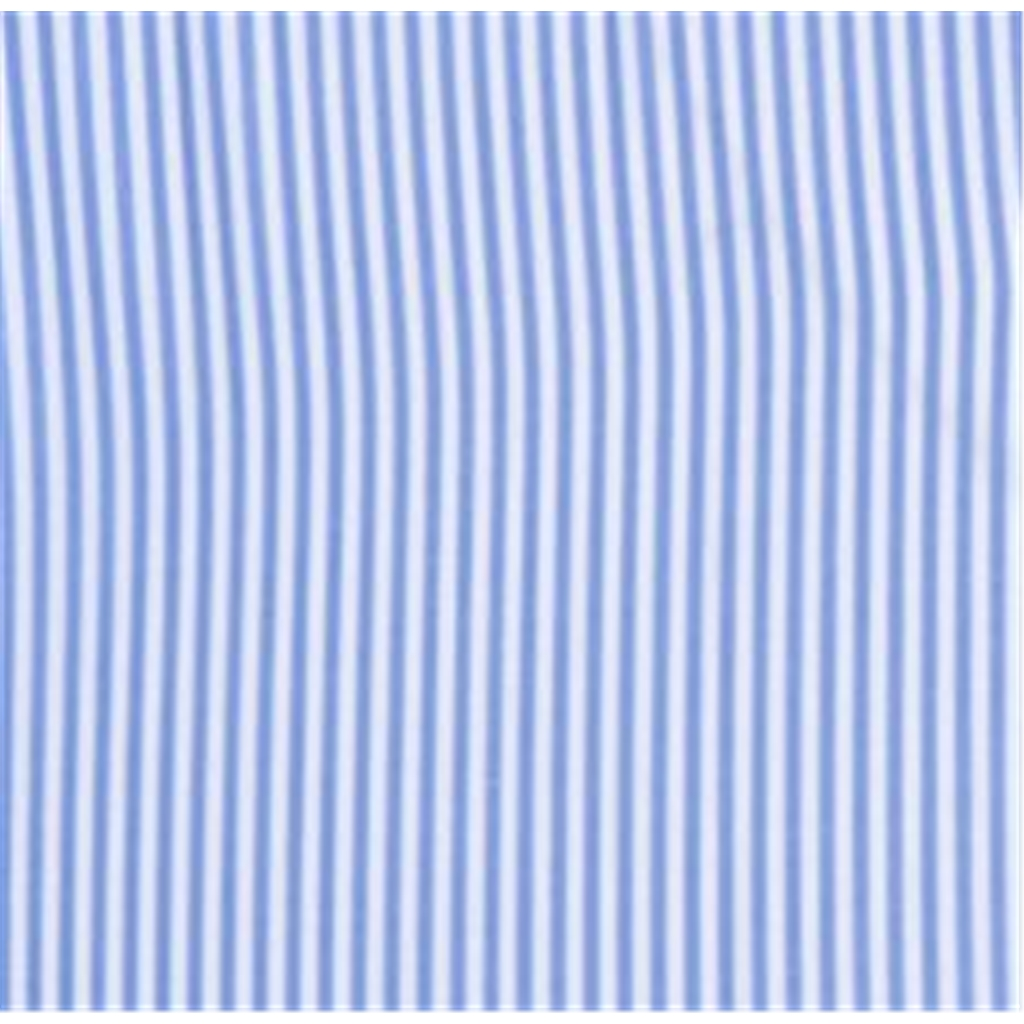 Fynch Hatton Premium Cotton Shirt - Blue Stripe