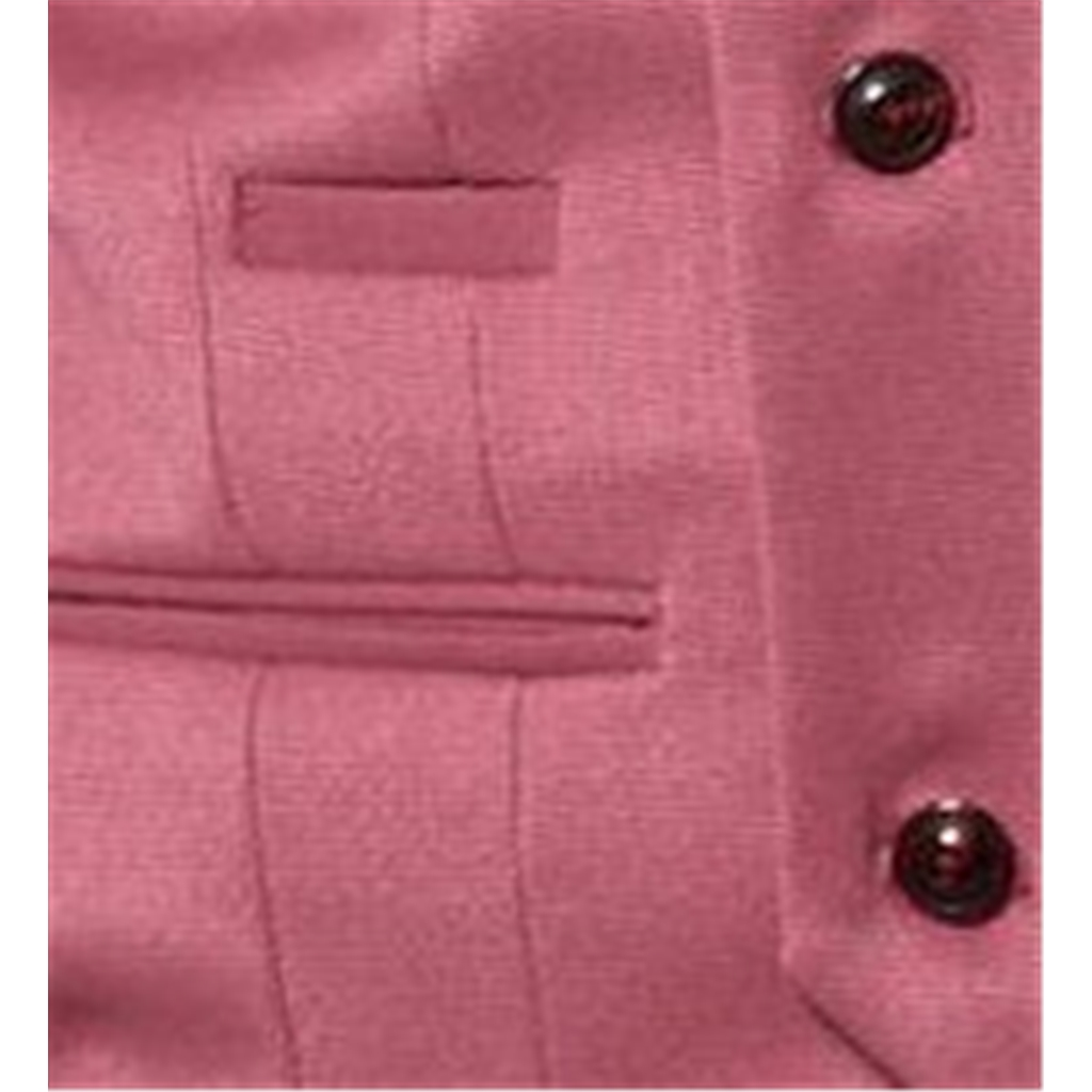 Marc Darcy Kelly Single Breasted Waistcoat - Pink