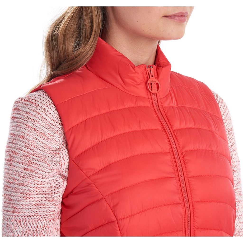 New 2020 Barbour Shorewood Gilet - Coral