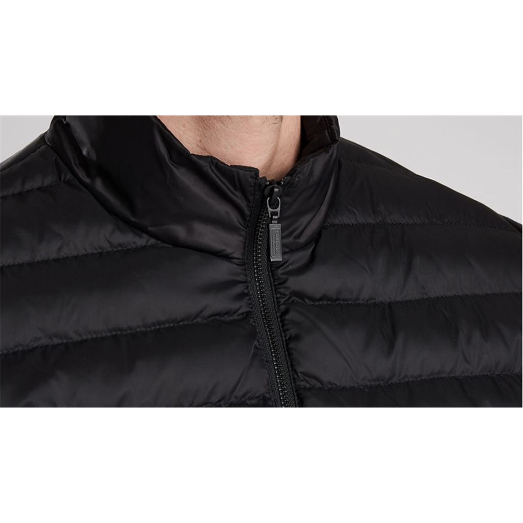 New 2020 Barbour International Men's Impeller Quilted Jacket - Black
