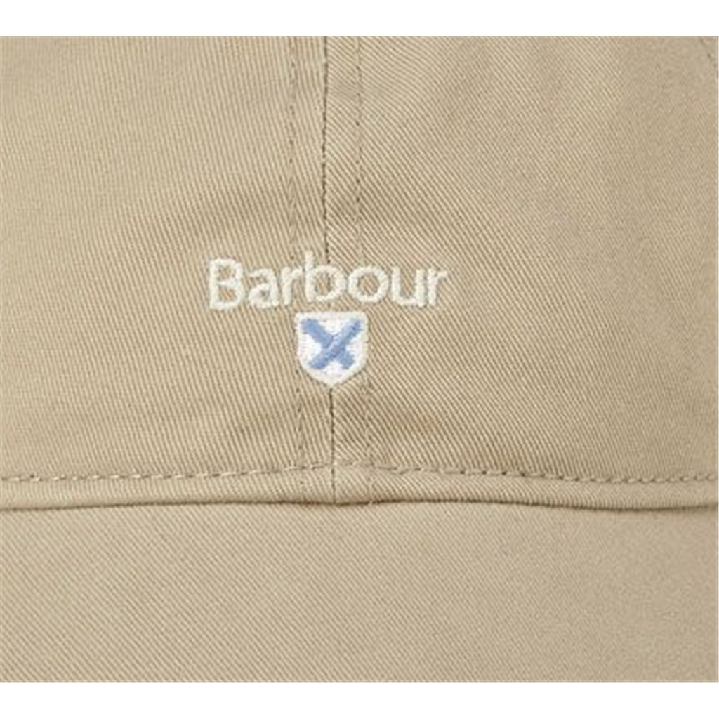 New 2020 Barbour Men's Cotton Sports Cap - Cascade - Stone