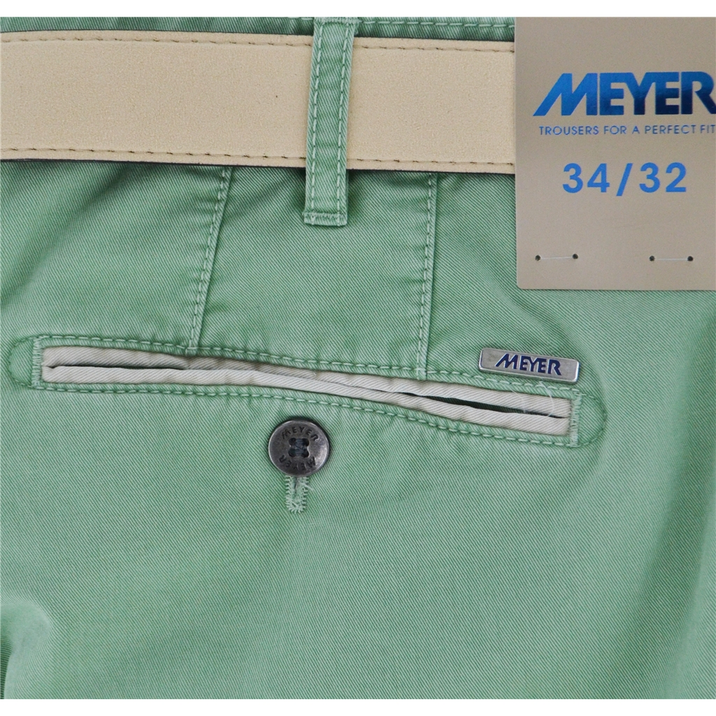 New Summer Meyer Cotton Trouser - Mint - New York 5001-23